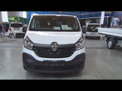 Renault Trafic 1.6 dCi 115 L1H1 Double Cab Combi Van (2018) Exterior and Interior