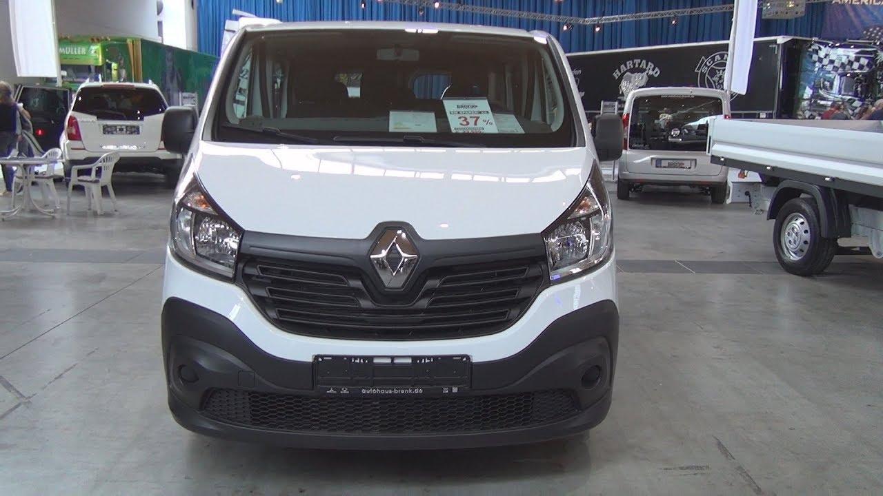 1b2cfe2e26 Renault Trafic 1.6 dCi 115 L1H1 Double Cab Combi Van (2018) Exterior and  Interior