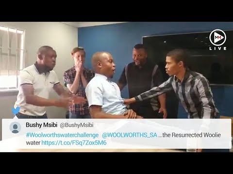The most hilarious attempts at the #WooliesWaterChallenge