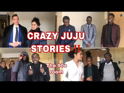 CRAZY JUJU STORIES!! 90S ROOM | THELMA AND RENEE