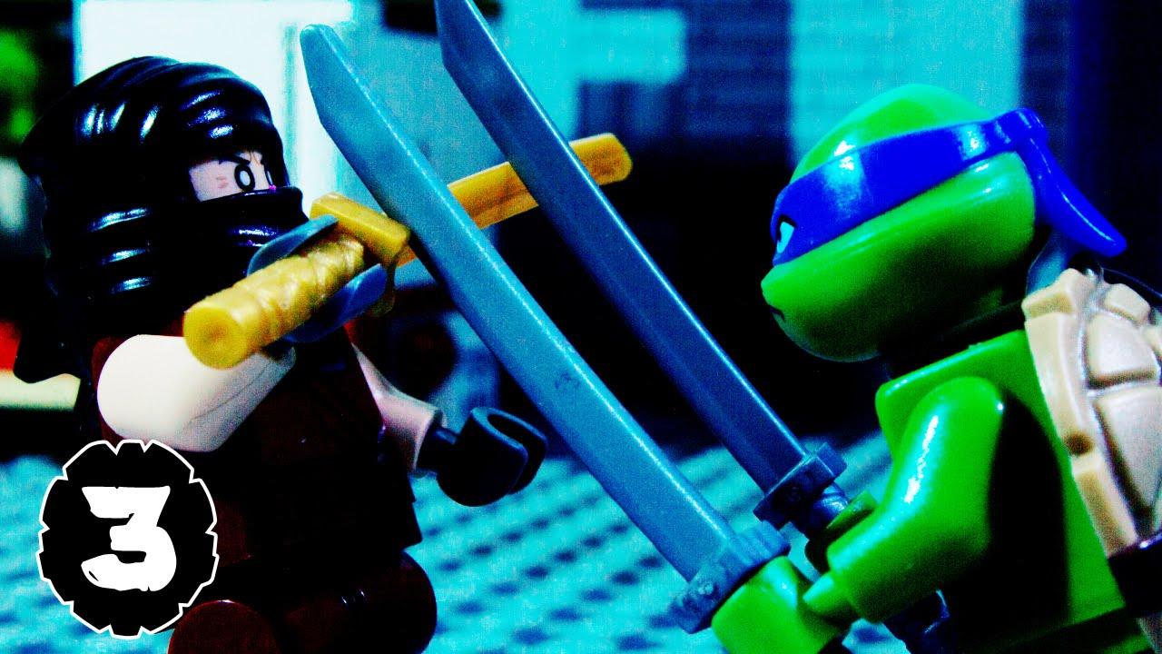 lego tmnt teenage mutant ninja turtles episode 3 youtube. Black Bedroom Furniture Sets. Home Design Ideas