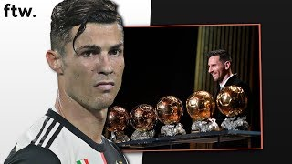 RONALDO IS BITTER ABOUT THE BALLON D'OR (FTW)