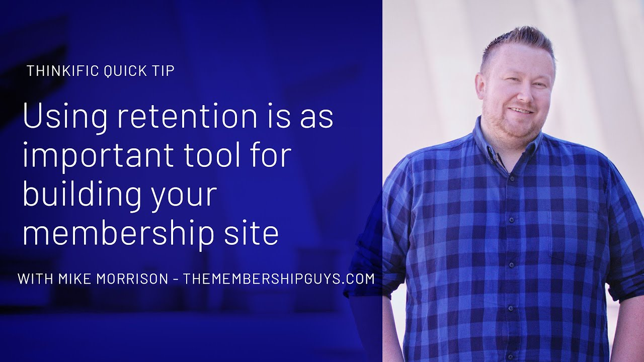 Mike Morrison's tips on growing a membership site