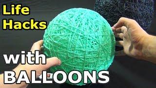як зробити абажур на кульці