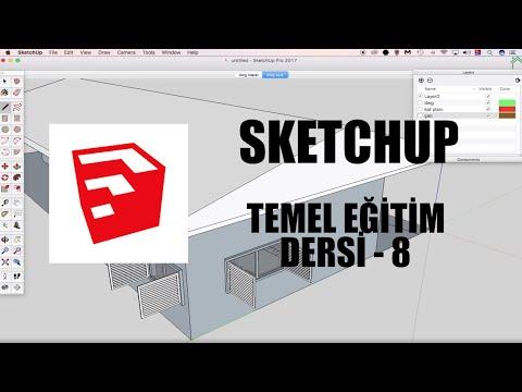 SketchUp Temel Eğitim Dersleri - 8
