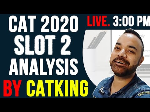 CAT 2020 SLOT 2 ANALYSIS By CATKing