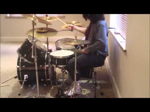 Asking Alexandria-Break Down The Walls *Drum Cover*