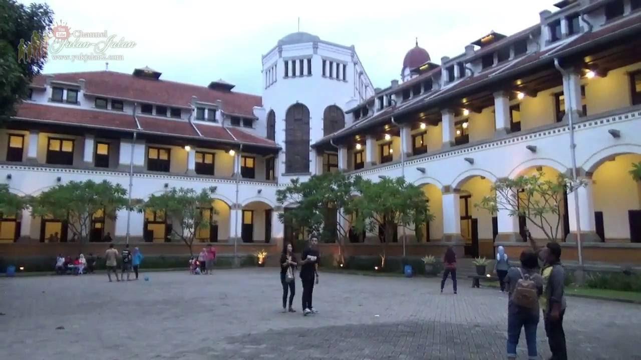 Objek Wisata #9 Lawang Sewu Semarang Jawa Tengah Indonesia 9 (Menjelang  Malam)