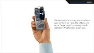 Philips Digital Pocket Memo - Robustes und ergonomisches Design