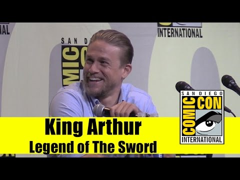 Legend of The Sword | 2016 Comic Con Panel (Charlie Hunnam)
