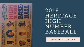 Watch us unbox the 2018 Heritage high number (Baseball)