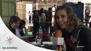 Tour por el foro de El vuelo de la Victoria con Paulina Gotto | #LasEstrellas