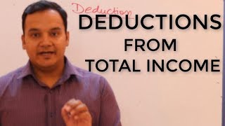 Deductions from Gross total Income