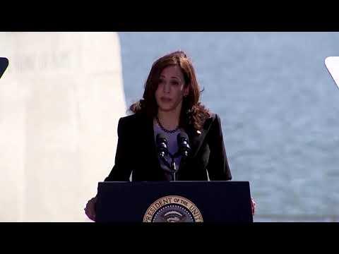 Harris, Biden blast GOP on voting rights 'abyss'