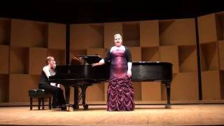 Melissa Van Dijk, soprano - Simple Gifts, Old American Songs Pt. 1, Aaron Copland