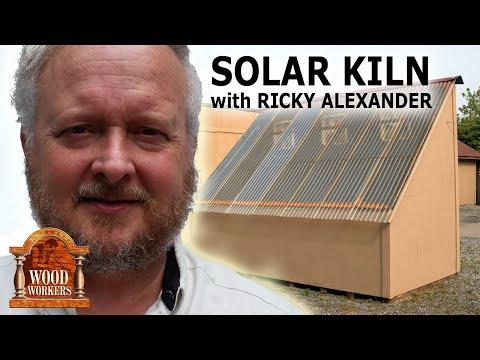 Solar Kiln by Ricky Alexander