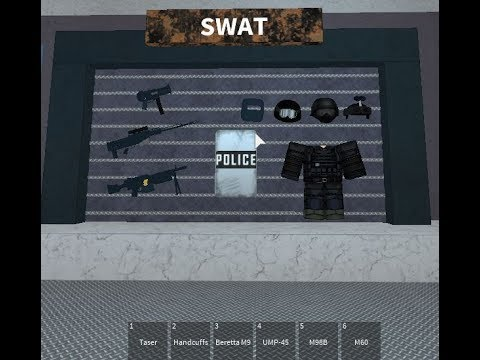 ROBLOX Redwood Prison  I AM A SWAT  YouTube