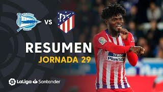 Resumen de Deportivo Alavés vs Atlético de Madrid (0-4)