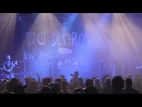 PIG DESTROYER The Diplomat LIVE [HD]