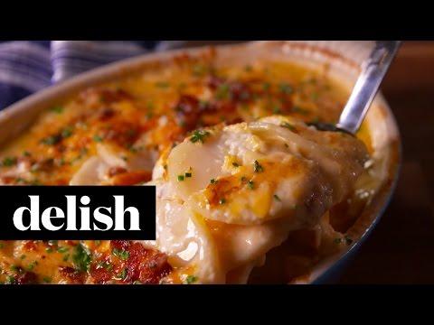 Loaded Scalloped Potatoes | Delish
