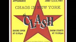 The Clash - Train In Vain - New York 1981 (04)