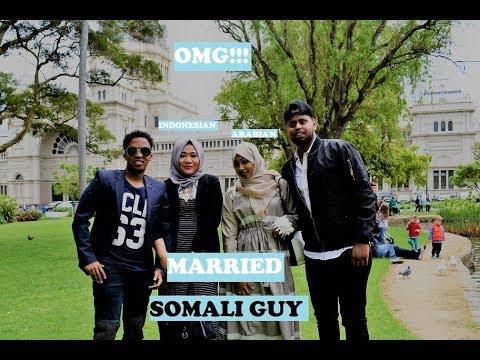 OMG!!! Indonesian & Arabian girl Married SOMALI GUYS