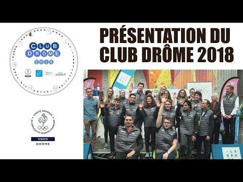 2018 01 06 Actu'Sport   Club Drôme 2018   CDOS