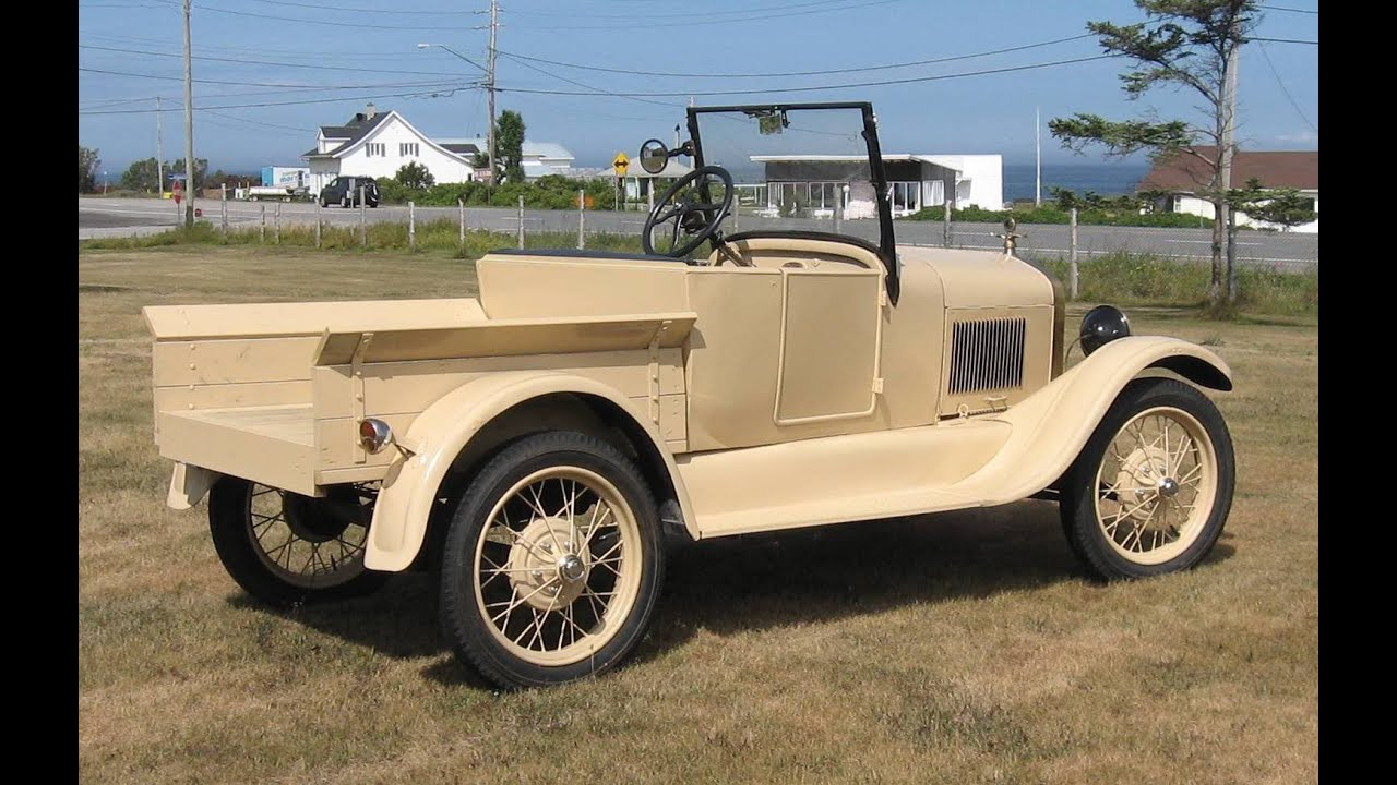 Build a Fod roadster pickup 1927 Ford Model T Matane construire un ...