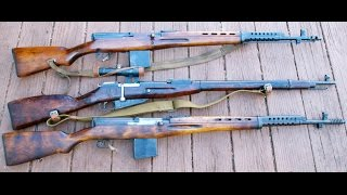 Russian Arms Day: Mosin Nagant, SVT-40 and AK47