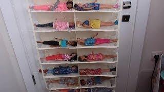 Hediye Paketlerimi Açıyorum Squishy Barbie Koleksiyon Düzenleyici Miniş LOL Minyatür Bidünya Oyuncak