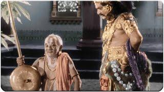 S V Ranga Rao Searching For Savitri at Dwaraka Hilarious Comedy || Mayabazar Movie