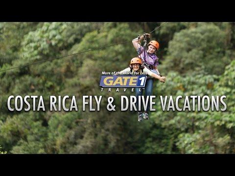 Gate 1 Costa Rica Flight, Hotel & Car Rental Packages