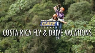 Gate 1 Costa Rica Flight, Hotel & Car Rental Packages