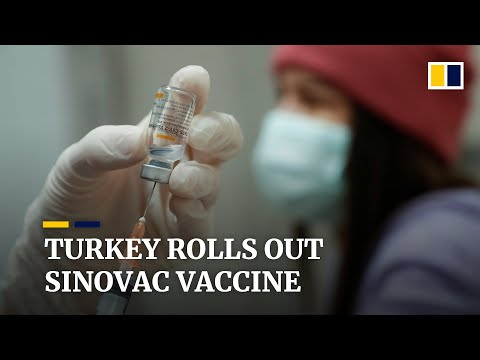 Erdogan gets jab as Turkey rolls out coronavirus vaccine campaign with China's Sinovac