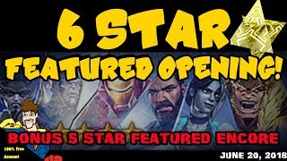 NEW 6 star  featured crystal opening! Marvel Contest of Champions