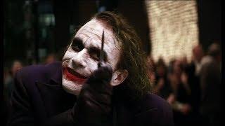 Откуда шрамы у Джокера? - Тёмный рыцарь (2008)