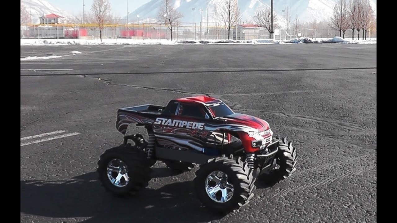 Traxxas STAMPEDE 4X4 BRUSHED 1/10 4WD Monster Truck - Hobby