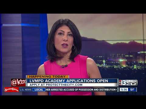 Las Vegas Police Department Applications Open For Academy