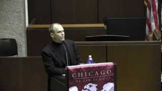 Crime in Law and Literature Conference Plenary Talk and Panel, featuring Scott Turow