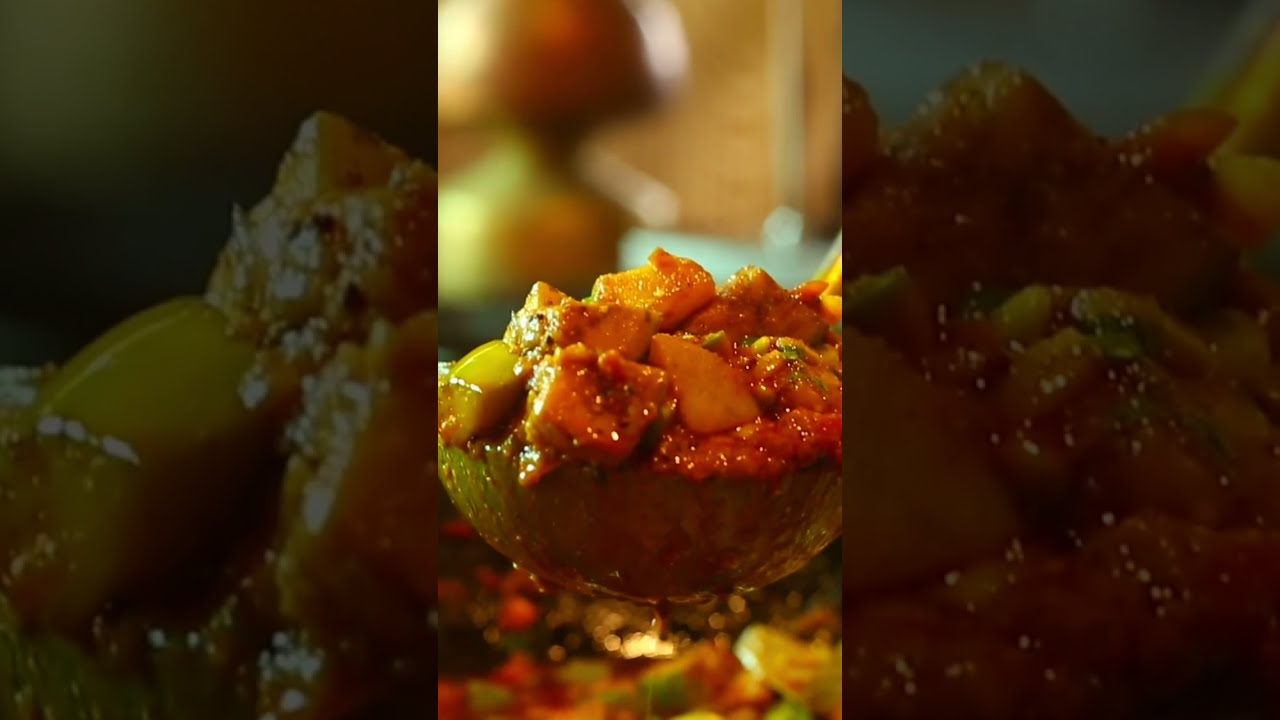 विष्णूजीं कि रसोई मध्ये बनलेले रस्सेदार पोपट वांगे । popat Wanga batata rassa    Masteer shots