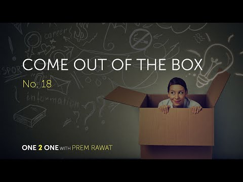 One 2 One, No. 18 – Come Out of the Box