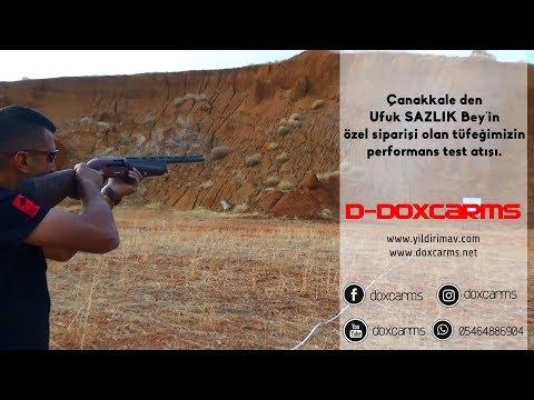 Özel sipariş av tüfeği performans testi