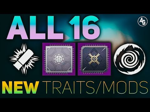 Black Armory Weapon Traits, Weapon Mods, & Armor Mods | Destiny 2 Black Armory