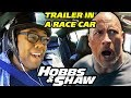 HOBBS AND SHAW Final Trailer REACTION in a RACE CAR