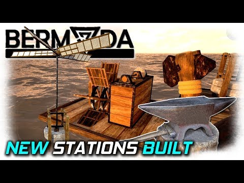 New Stations and Resources | Bermuda Lost Survival Gameplay | EP7