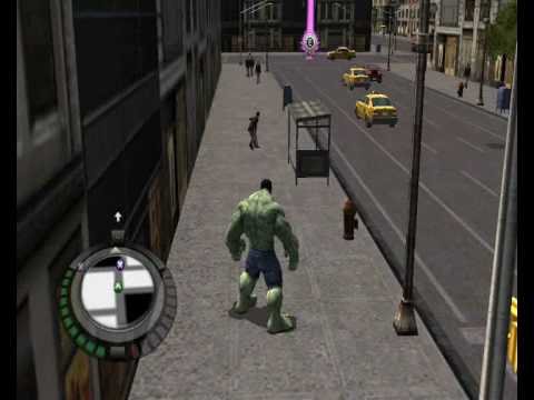 Обзор игры Incredible Hulk, The