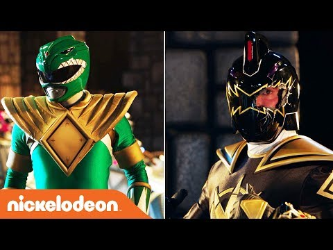 'Tommy 🆚 Evil Tommy' Extended Fight | Power Rangers 25th Anniversary | Nick
