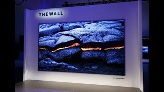 Samsung's The Wall Modular microLED TV First Look | Digit.in