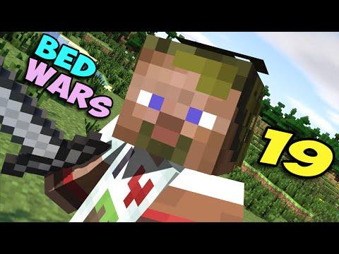 ч.19 Bed Wars Minecraft - Очень напряженная и крутая игра ^_^