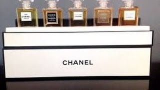 Chanel Fragrance Collection
